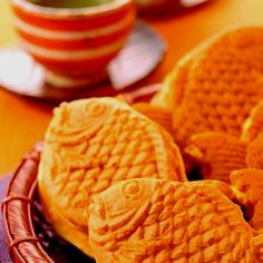 Japanese Taiyaki. I like it, especially which has Anko&Soymilk cleam is better for me.