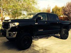 My Toyota Tundra 2014 Black
