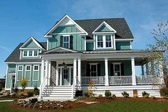 Plan W30020RT: Cottage, Farmhouse, Country, Photo Gallery, Corner Lot House Plans & Home Designs
