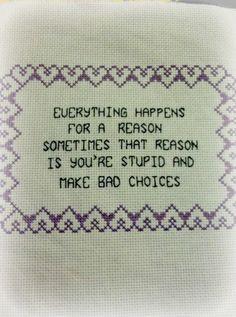 Bad choices ~ Debbie ❤