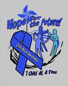 Child abuse awareness shirt. Hope T-shirt by GatewayImprints