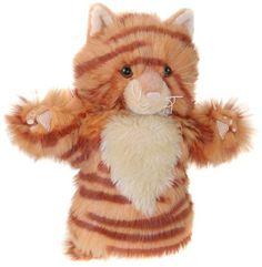Cat Puppet - everyone take turns creating a cat story#YoYoBirthday
