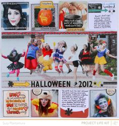 Fantastic Project Life pages from Suzy Plantamura    http://suzyplantamura.typepad.com/#