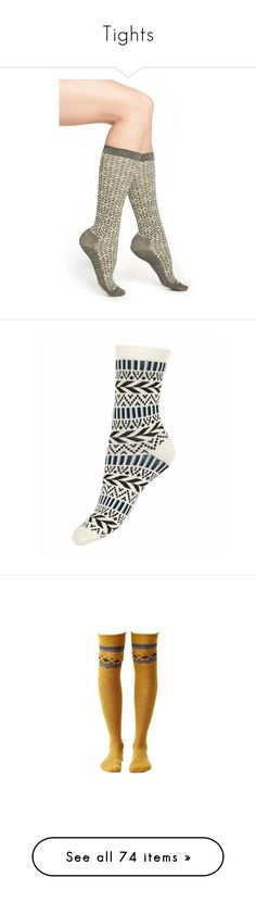 """Tights"" by samtiritilli ❤ liked on Polyvore featuring intimates, hosiery, socks, olive green heather, army green socks, padded socks, print socks, seamless socks, no seam socks and ankle high socks"