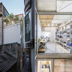 Completed in 2016 in Cầu Giấy, Vietnam. Images by Nguyen Thai Thach. Context SMA254, located on an area of just 10m2 in Cau Giay District (Hanoi), is the remnants of Hanoi's rapid development. Its narrow facade...