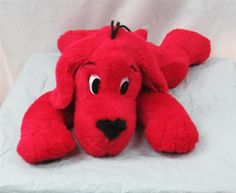 Clifford The Big Red Dog Scholastic Stuffed Plush Animal 21 inches 1997 | eBay $19.95
