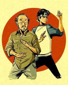 Miyagi, Karate, Kai, Fictional Characters, Fantasy Characters, Chicken