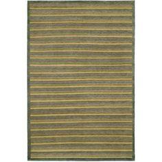 Safavieh Hand-knotted Tibetan Green Wool Area Rug (9' x 12')