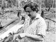 """He fought to preserve the Amazon rainforest, and advocated for the human rights of Brazilian peasants and indigenous peoples. He was assassinated by a rancher on December 22, 1988.""""Chico Mendes"""""""