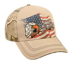 32222a9c774 It s My Right American Flag  amp  Eagle Realtree Hat by OC