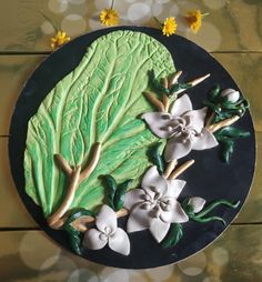 Air dry clay art! Air Dry Clay, Clay Art, Wild Flowers, Joy, Tableware, Dinnerware, Dishes, Being Happy, Place Settings