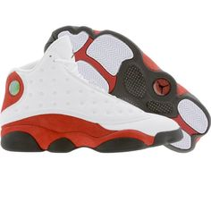 check out d0e86 f9c83 Air Jordan XIII White red black--got these
