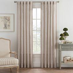 Bayport Fringe Rod Pocket/Back Tab Window Curtain Panel