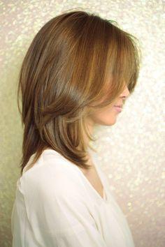 Secretのヘアスタイル | 魔法の小顔ヘア(l-001) | 東京都・青山・表参道の美容室 | Rasysa(らしさ)