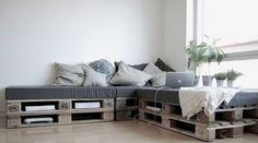 Мебель из поддонов своими руками - новое направление дизайна