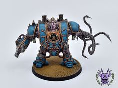 Thousand sons (Tzeentch) - Helbrute #ChaoticColors #commissionpainting #paintingcommission #painting #miniatures #paintingminiatures #wargaming #Miniaturepainting #Tabletopgames #Wargaming #Scalemodel #Miniatures #art #creative #photooftheday #hobby #paintingwarhammer #Warhammerpainting #warhammer #wh #gamesworkshop #gw #Warhammer40k #Warhammer40000 #Wh40k #40K #chaos #warhammerchaos #warhammer40k #tzeentch #thousandsons #Helbrute #Dreadnought