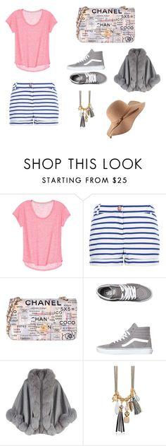 """""""Simplex"""" by the-incredibles ❤ liked on Polyvore featuring Petit Bateau, Chanel, Vans and Harrods"""