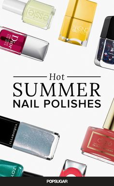 Combat the rising temperatures with some pretty pampering. After you try a new braid and get a spray tan, splurge on a spa manicure and pedicure using these zesty new season shades.