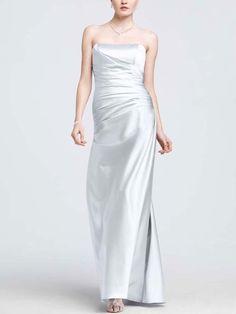 David's Bridal Bridesmaids Dress.
