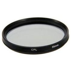 New Circular Polarizing CPL Camera Lens Filter 58mm
