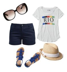 rio by bohemianfarmgirl on Polyvore featuring polyvore fashion style Abercrombie & Fitch Barbour Dorothy Perkins Gap Gucci clothing