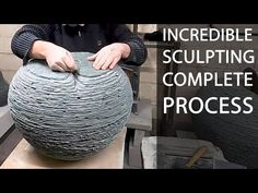 THE MAKING OF A SCULPTURE | From Stone Original to Finished Bronze - YouTube