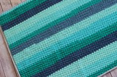Legume Lagoon Blanket Free Crochet Pattern
