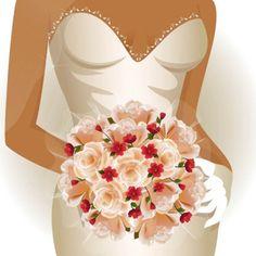 bride vector illustration, free for download