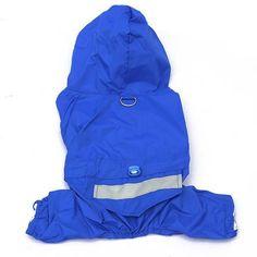 Dog Apparel Acrylon Raincoat Jacket