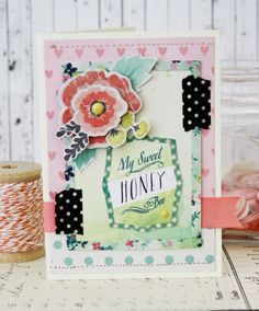 My Sweet Honey...Handmade Card by lilybeanpaperie on Etsy, $7.75