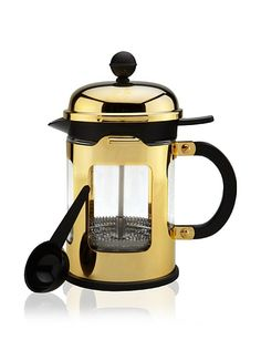 Bodum: Chambord 4-Cup French Press Coffee Maker, Gold Chrome