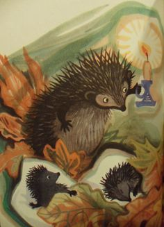 "Iwan Bielyszew (author). Illustration from ""Uparty Kotek."""