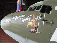 "C-47 Skytrain - ""Boogie Baby""."