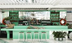 Top Deck Bar at Watson's Bay Boutique Hotel.
