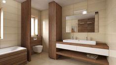 Tropical Bathroom, Master Bathroom, Bathtub, House Design, Interior Design, Mirror, Showers, Furniture, Bathrooms