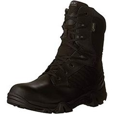 Men's Waterproof Bates GX - 8 Gore - Tex Side - zip Duty Boots protect and serve your feet with support and slip - resistance! Wear the on the beat and sta Waterproof Motorcycle Boots, Waterproof Boots, Renaissance Boots, Duty Boots, Side Zip Boots, Timberland Boots, Black Boots, Sneakers Fashion, Combat Boots