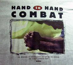 Christian HAND TO HAND COMBAT 2Cor 10:4 Scripture Photo T-Shirt Adult Large Xclt