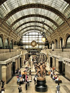Inside the Orsay Museum - Psris