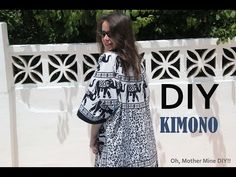 #Tutorial: chaqueta estilo kimono súper fácil. - YouTube