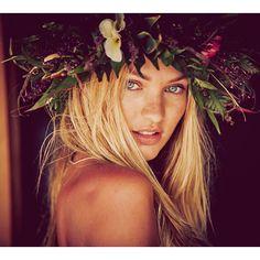 "Kestrel ""Island fairy  @guyaroch @victoriasecret  @liverbird333 @ingefonteyne @aligirllll @therealamyfarid @deannahaganmakeup #borabora"""