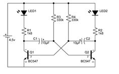 Astable #Transistors is a semiconductor device used to amplify or switch electronic signals and electrical power.