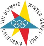 VIII Olympic Winter Games    The emblem represents a star or snowflake, and the Olympic rings.  Host citySquaw Valley, California, United States  Nations participating30  Athletes participating665  (521 men, 144 women)  Events27 in 4 sports  Opening ceremonyFebruary 18  Closing ceremonyFebruary 28