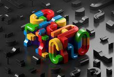 Experimentos tipográficos hechos por dos diseñadores