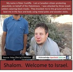 Welcome to Israel... land of the Palestinians.