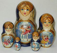 Russian folk art dolls