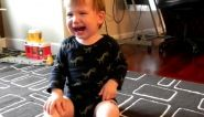 In this web video of the day, a baby isn't sure what to make of his new tattoo.