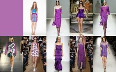 PANTONE Color of the Year 2014 - Radiant Orchid in Fashion