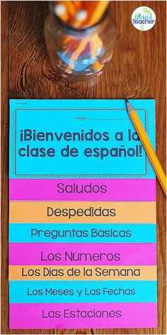 Learning Videos Family Way To Learn Spanish Activities Key: 3375684046 Spanish Classroom Activities, Spanish Teaching Resources, Spanish Language Learning, Listening Activities, Elementary Spanish Classroom, Spanish Classroom Decor, Spanish Interactive Notebook, Interactive Notebooks, Interactive Learning
