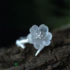 Top Quality Handmade Jewelry Original Design Fresh Lotus Ring For Women