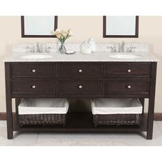 """Lanza Products WF6621-72 Camber 72"""" Vanity with Backsplash and Sink, look at marble top"""